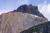 Detalle de los Cuernos en Torres Del Paine