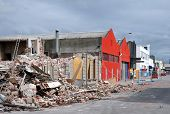 Christchurch Earthquake - St Asaph Street Damage