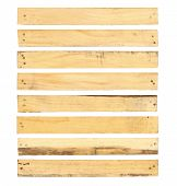 Wood Plank With Nail Head