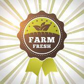 Farm Fresh Organic Product Eco Label