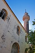 Old Mosque In The Abandoned Greek/turkish Village Of Doganbey, Turkey