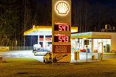 Shall Gas Station In Zakopane