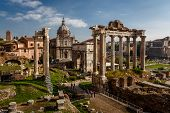 stock photo of arch  - Roman Forum  - JPG