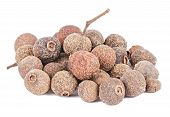 Heap Of Allspice Fruits Isolated