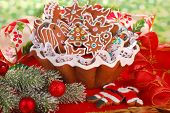 Homemade Gingerbread Cookies For Christmas Tree