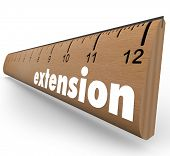 Extension Word Ruler Added Time Length Period