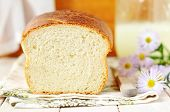 Buttermilk White Bread Cut