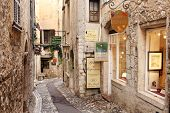ST. PAUL DE VENCE, FRANCE - AUGUST 27: St Paul De Vence is a beautiful medieval fortified village pe