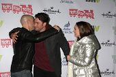 LOS ANGELES - DEC 1:  Chris Daughtry, Ace Young, Diana DeGarmo at the 2013 Hollywood Christmas Parad