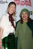 LOS ANGELES - DEC 1:  Cristina Cacciotti, Valerie Harper at the 2013 Hollywood Christmas Parade at H