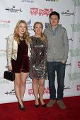 LOS ANGELES - DEC 1:  Taylor Spreitler, Melissa Joan Hart, Nick Robinson at the 2013 Hollywood Chris