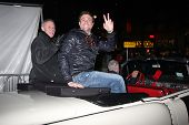 LOS ANGELES - DEC 1:  Tristan Rogers, Daniel Goddard at the 2013 Hollywood Christmas Parade at Holly