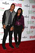 LOS ANGELES - DEC 1:  Redaric Williams, Angell Conwell at the 2013 Hollywood Christmas Parade at Hol