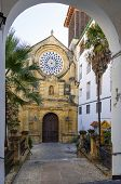 Real Church Of St. Paul In Cordoba Spain