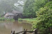 Mabry Mill On The Blue Ridge