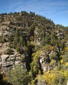 A cliff home