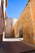 Segorbe Castellon Torre del Verdugo and medieval Muralla in Spain Valencian Community