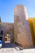 Segorbe Castellon Torre de la Carcel Portal de Teruel in Spain Valencian Community