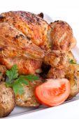 Golden Roasted Chicken