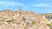 View Of Matera, Italy, Unesco