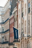 Sotheby's Flag Above London Office