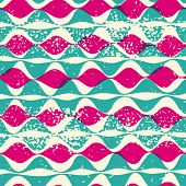 Vintage seamless pattern hipsters. Vector EPS10. Illustration with texture for print, web seamless pattern hipsters