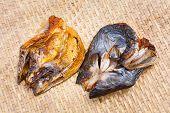 Crispy Smoke Dried Mystus Nemurus Catfish