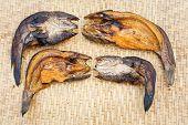 Crispy Smoke Dried Striped Snakehead Fish