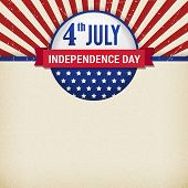 Vector Independence Day Poster