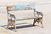 Old And Weathered Bench