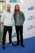 LOS ANGELES - MAY 10:  Adam Levine, James Valentine at the 2014 Wango Tango at Stub Hub Center on Ma