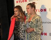LOS ANGELES - MAY 8:  Tallulah Willis, Scout Willis at the Nylon Magazine May Young Hollywood Issue Party at Tropicana Bar at The Hollywood Rooselvelt Hotel on May 8, 2014 in Los Angeles, CA