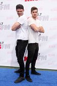 LOS ANGELES - MAY 10:  Alex Pall, Andrew Taggart, The Chainsmokers at the 2014 Wango Tango at Stub H
