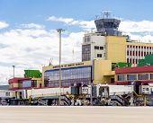 Madrid Barajas Airport Terminal Building