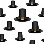 Pilgrim hat background