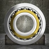 foto of ball bearing  - ball - JPG