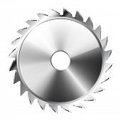 Illustration Saw Blade . Icon. Vector. eps 10.