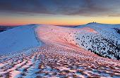 Slovakia Mountain At Winter - Fatras