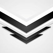 Abstract corporate background with arrows elements. Vector design