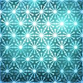 Christmas Snowflake Background, vector eps10 illustration