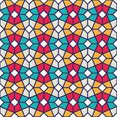 Intricated Geometric Pattern