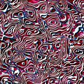 stock photo of malachite  - beutiful seamless malachite stone texture or pattern in red and white - JPG