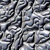 stock photo of malachite  - beutiful seamless malachite stone texture or pattern in gray - JPG
