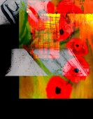 very Nice large scale Abstract painting On Canvas