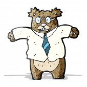 cartoon bear boss