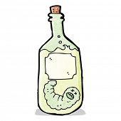 cartoon tequila bottle
