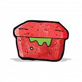 cartoon lunch box