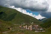 Towers In Mountain Village