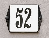 House Number 52