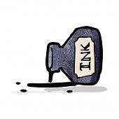 ink bottle cartoon